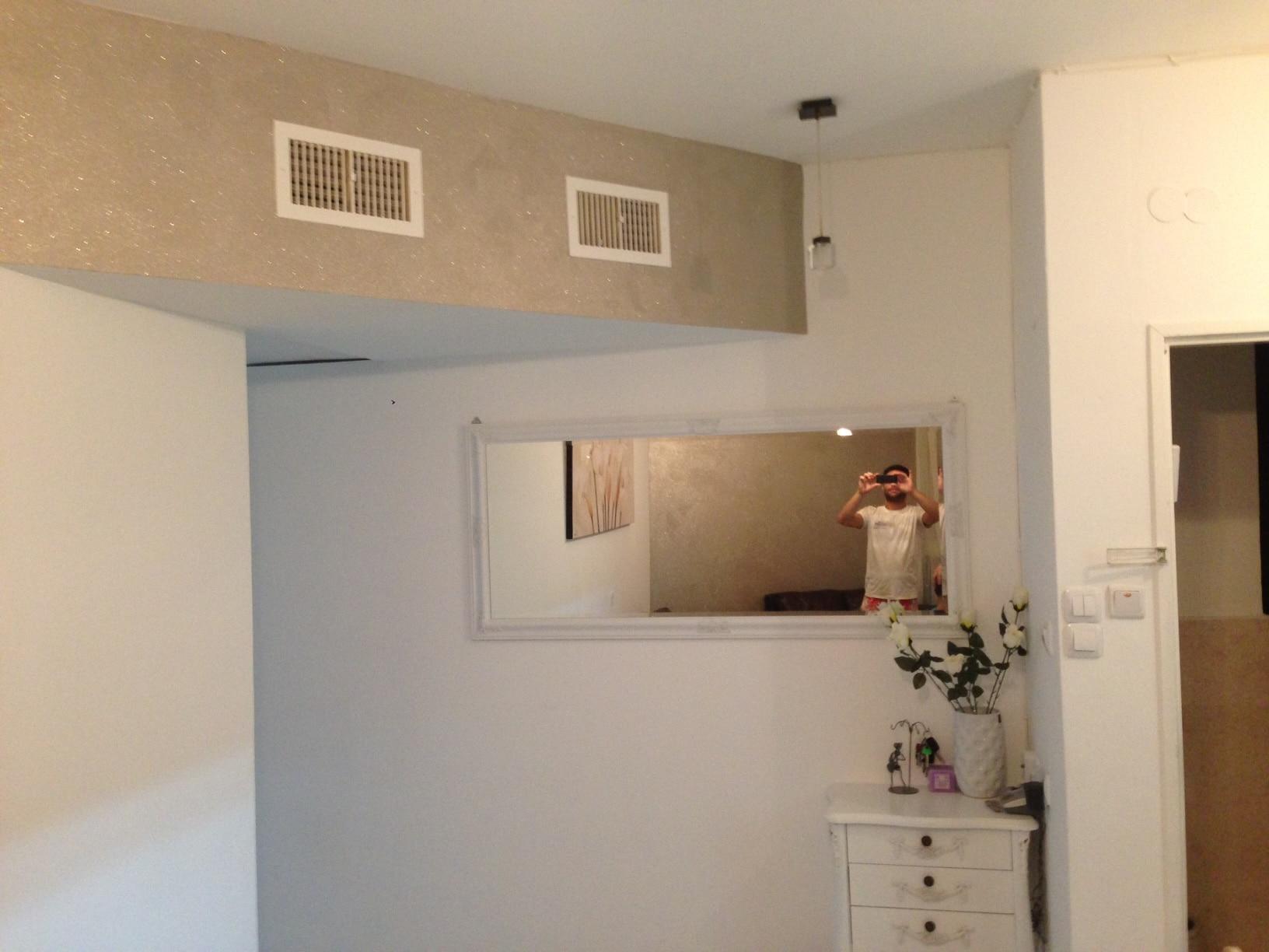 צביעת קיר בסלון מחיר