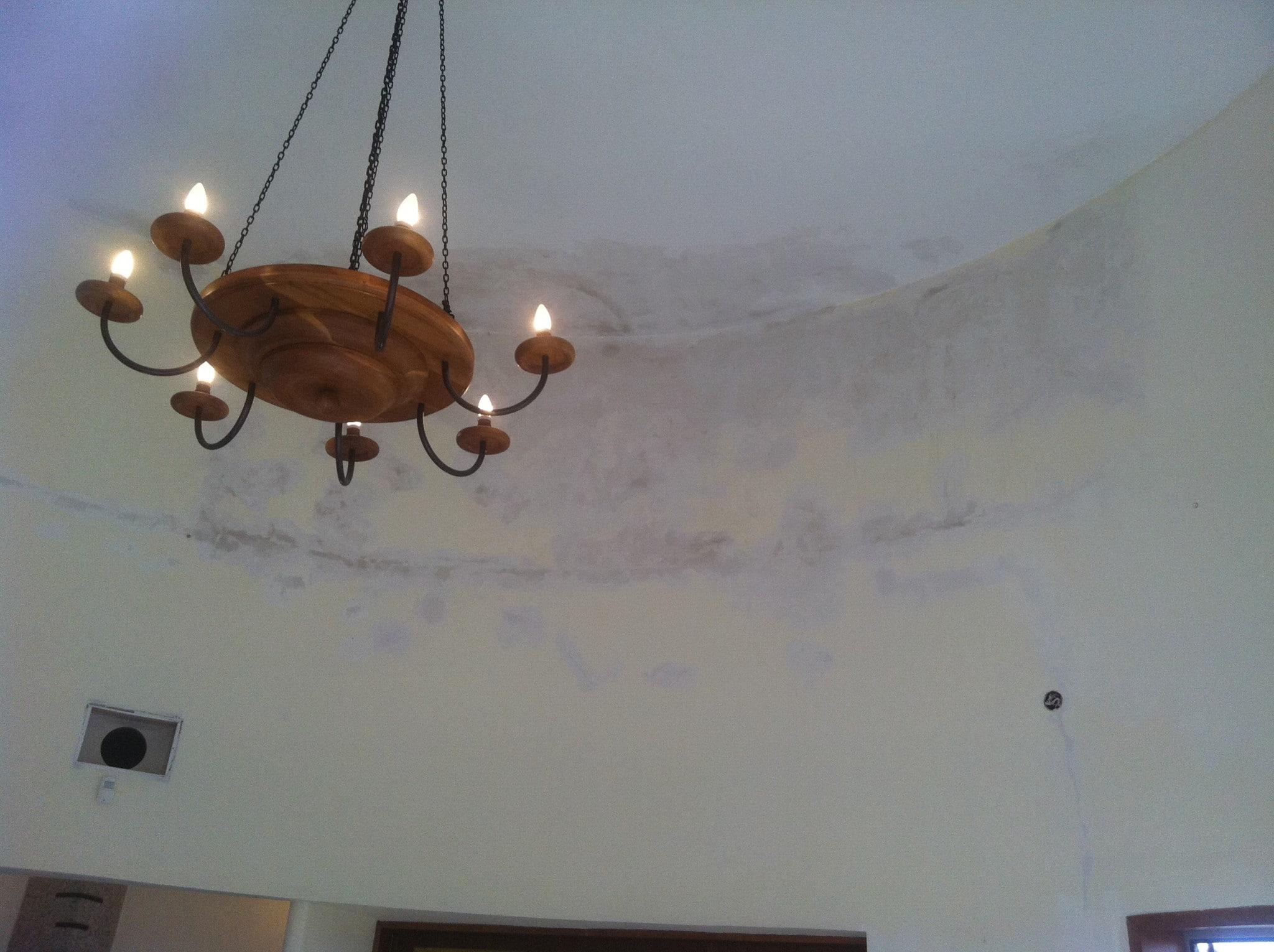 תיקון סדקים בתקרה